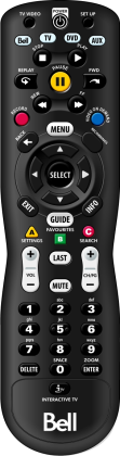 Fibe TV Nova Remote